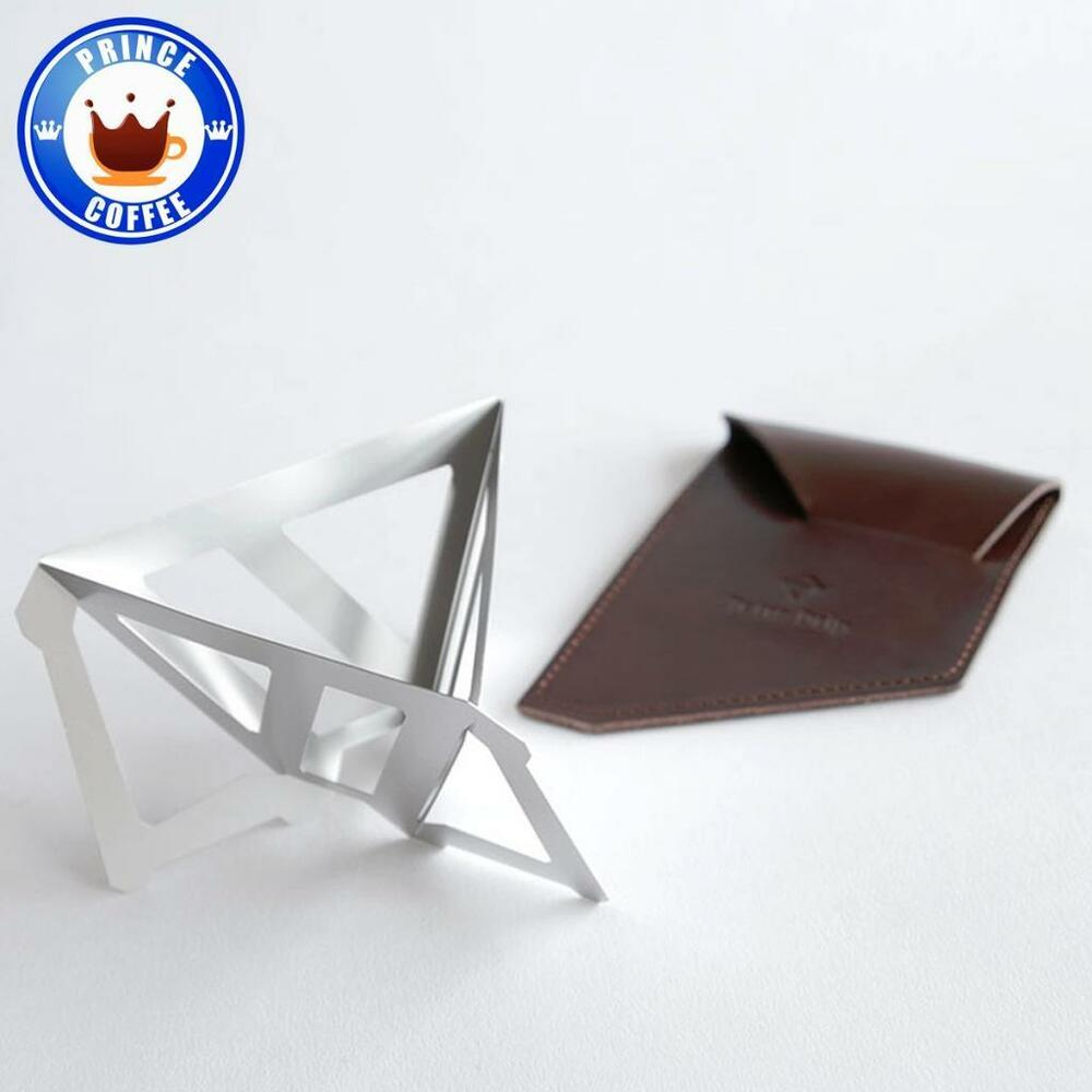 Tetra Portable 1mm Thick Stainless Steel Coffee Dripper W Leather Munieq Drip 02s Case 01sl Ebay