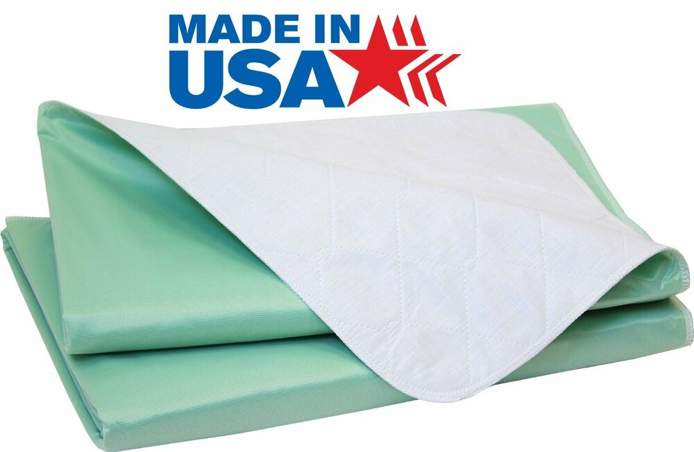 Big Size Washable Bed Pad Xxl Incontinence Underpad 36