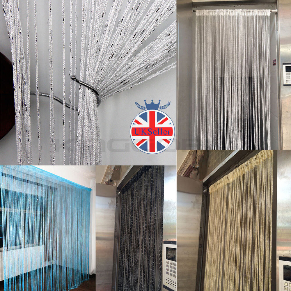 uk glitter fly screen glitter string curtain panels room. Black Bedroom Furniture Sets. Home Design Ideas