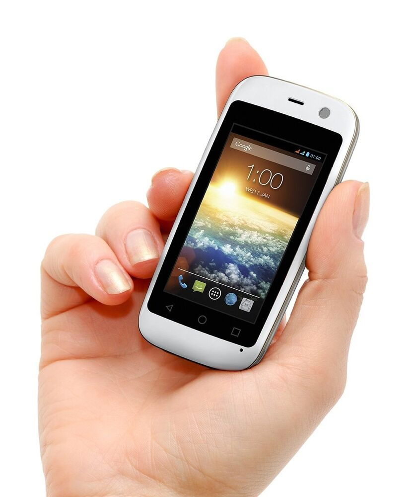 white mini smartphone 4g world smallest android mobile phone small gsm unlocked ebay. Black Bedroom Furniture Sets. Home Design Ideas