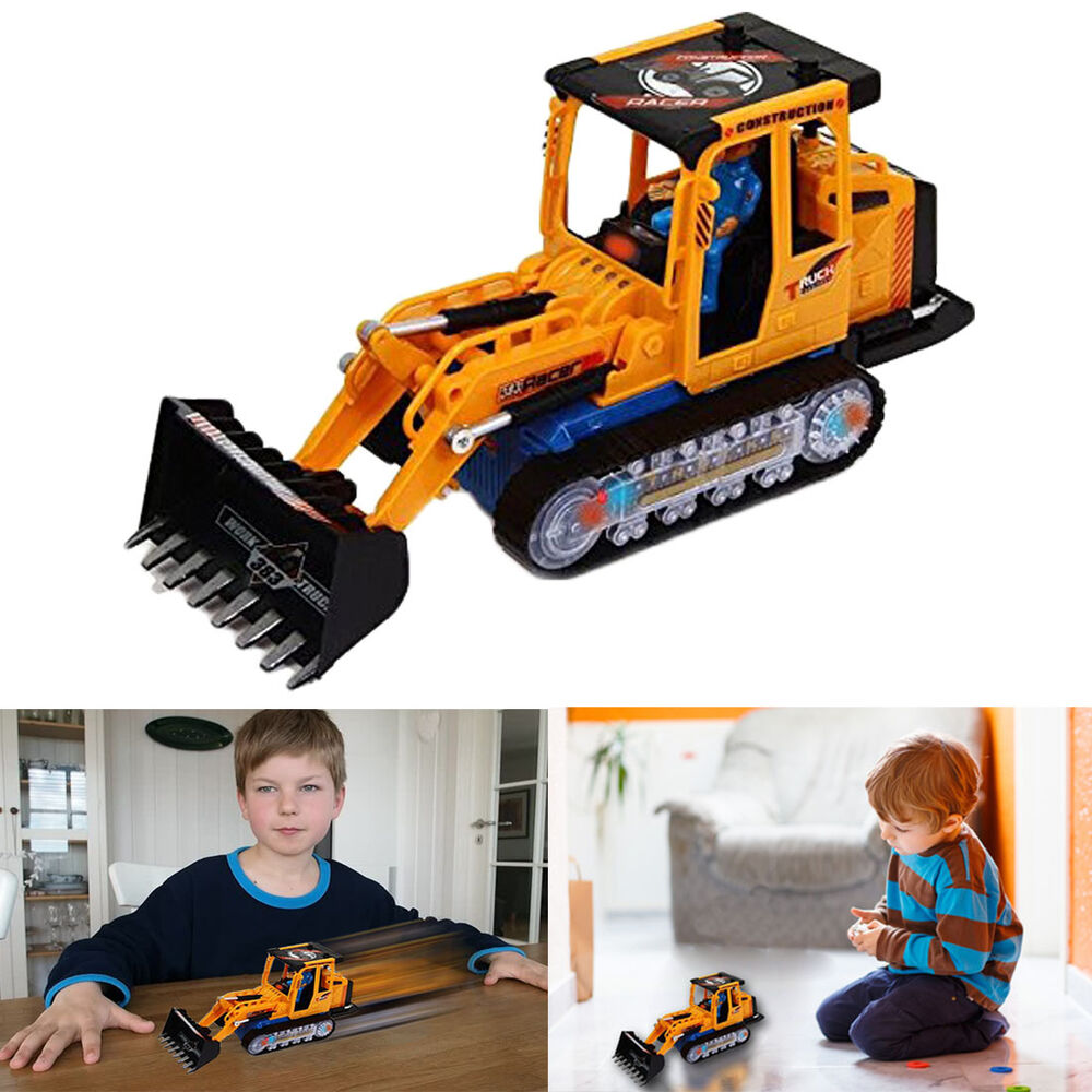 Bruder Construction Toys : Dazzling toys bruder construction loader truck battery