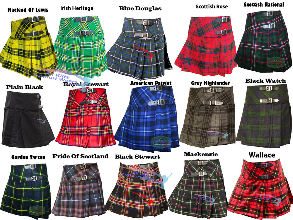 Popular Wool Kilted Skirt  Women39s Kilts  USA Kilts