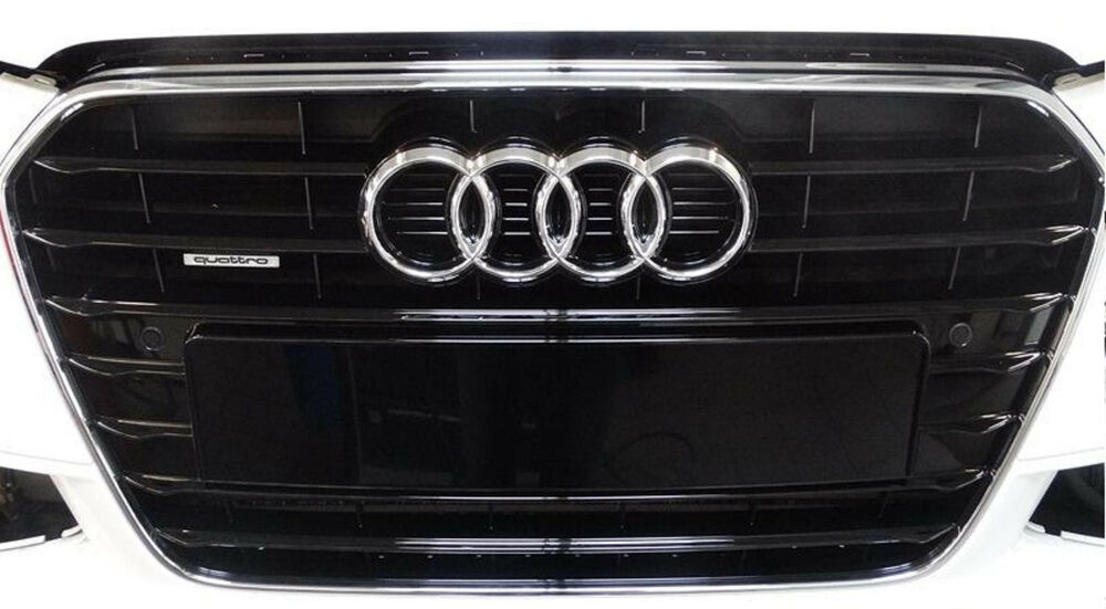audi a4 s4 8k b8 grille glossy black radiator grill. Black Bedroom Furniture Sets. Home Design Ideas