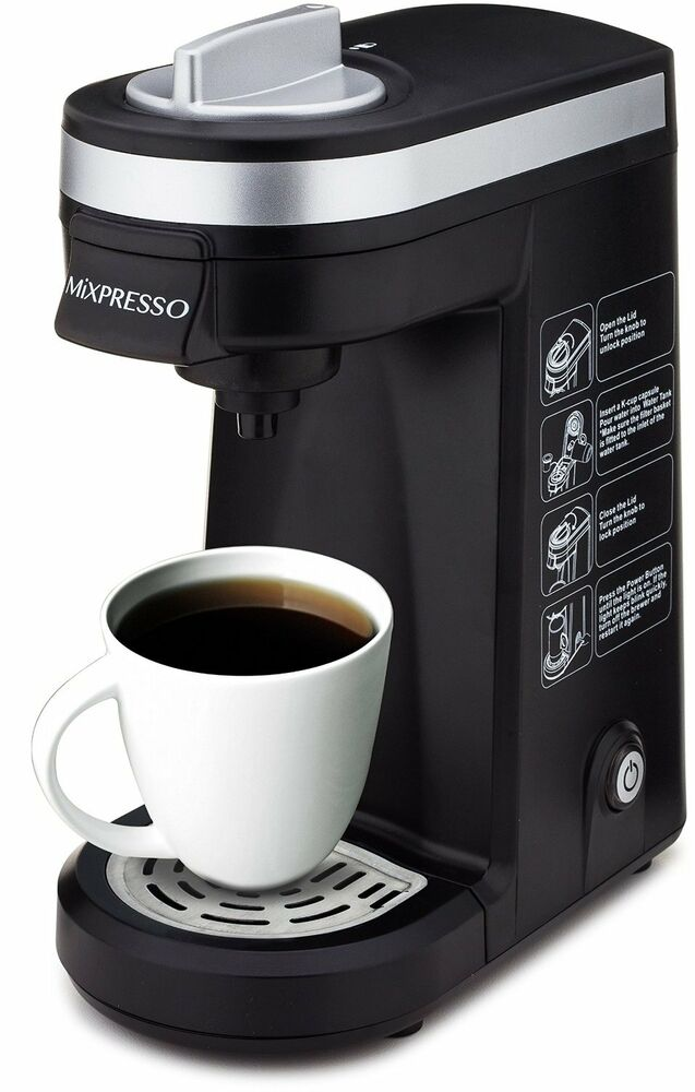 Compact Single Cup Coffee Maker For Keurig K-Cups By Mixpresso - travel size eBay