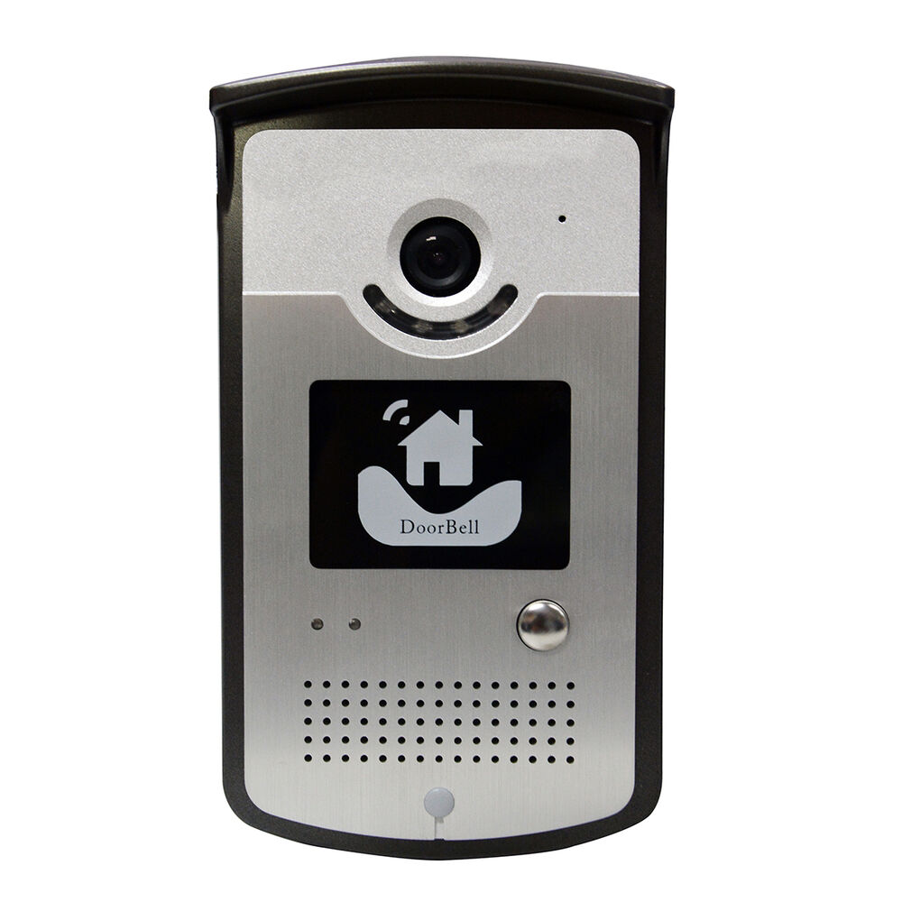 Asdibuy wireless wifi visual doorbell camera intercom for Door video camera