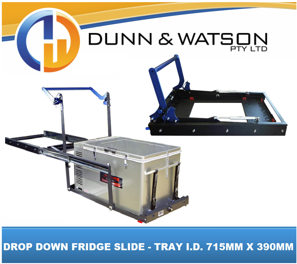 ds40 drop down fridge slide tray id 715mml x 390mmw waeco engel evakool arb ebay