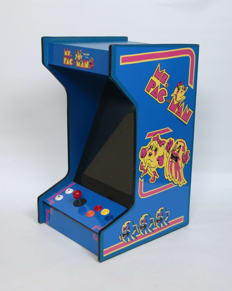 New Upright Bartop Tabletop Arcade Machine With 60