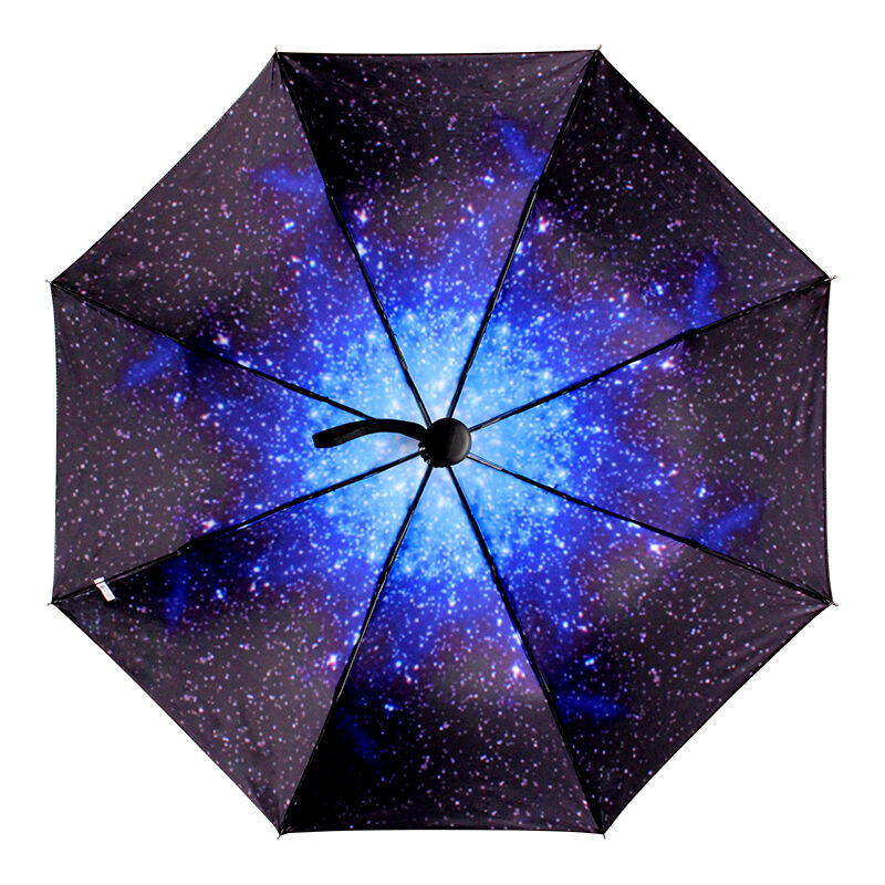 2016 starry sky windproof anti uv sun rain parasol 3. Black Bedroom Furniture Sets. Home Design Ideas