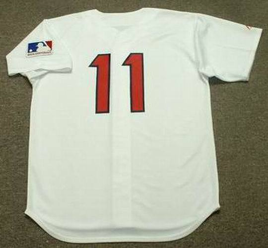 5a6f9ab09408 ED BRINKMAN Washington Senators 1969 Majestic Cooperstown Home Baseball  Jersey