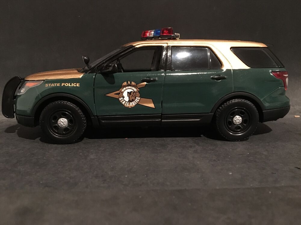new hampshire state police 1 24 custom ford explorer police suv ebay. Black Bedroom Furniture Sets. Home Design Ideas