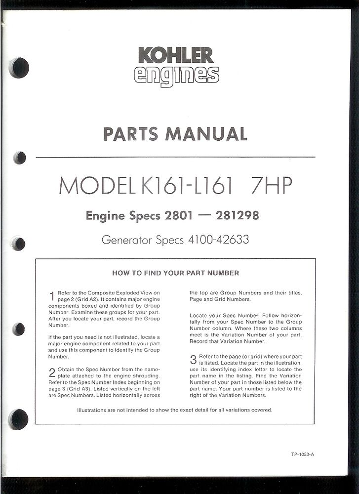 Key Switch Wiring Diagram Kohler K181 K301 Wiring Diagram Kohler – Kohler K181s Engine Wiring Diagrams