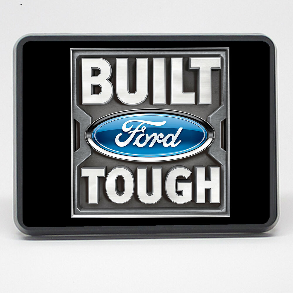 Built Ford Tough Tow Cover 2 Inch 2 Quot Trailer Hitch Cover Plug Tow Hitch Cover Ebay