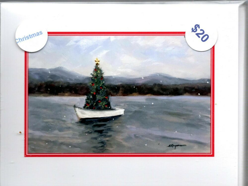 Christmas Cards Box Of 9 Assorted Notecards Ebay