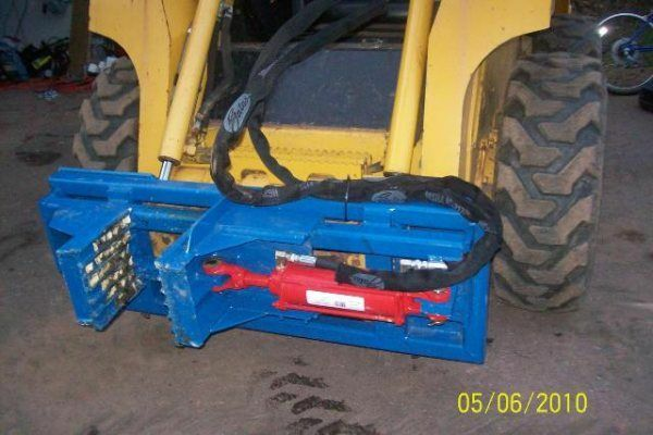 Standard Duty Tree And Post Puller For Skid Steer