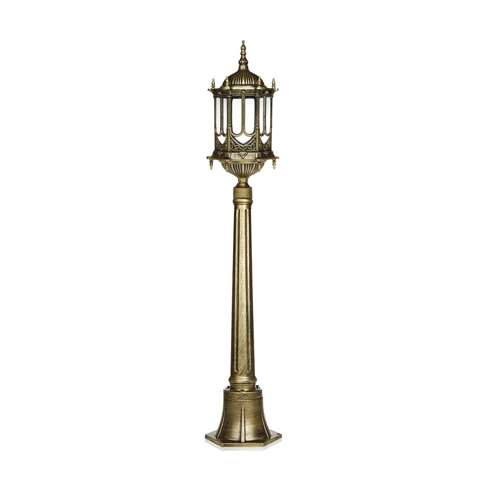 GARDEN LAMP POST Tall Bronze Style For Home Outdoor Post