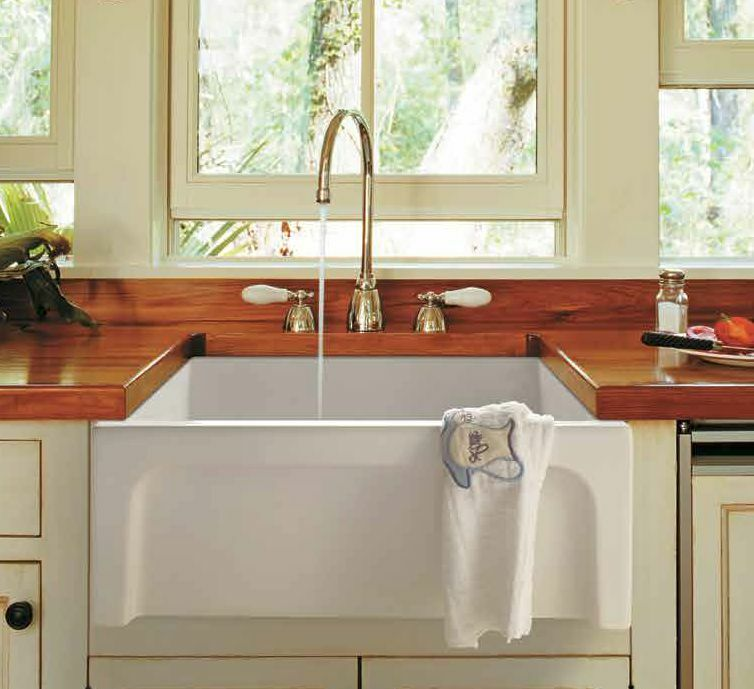 30 Quot 30inch Fireclay Farmhouse Casement Apron Sink White