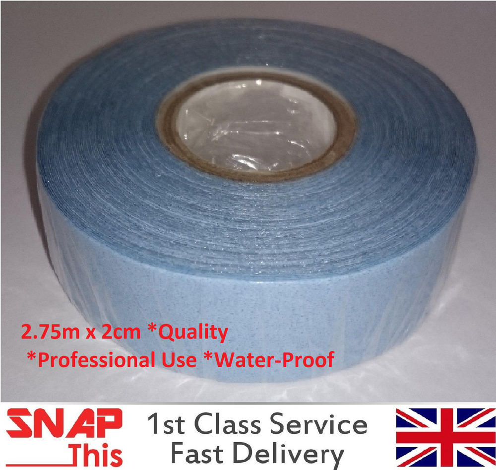 Extra Strong Double Sided Blue Adhesive Tape Weft Hair