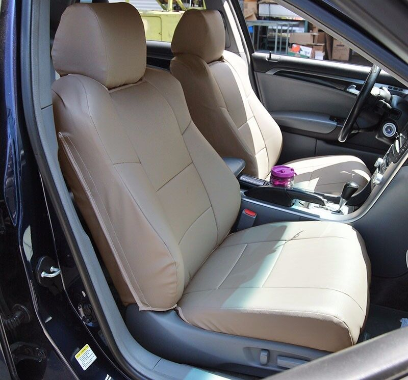 ACURA TL (NOT TYPE-S) 2004-2008 BEIGE S.LEATHER CUSTOM