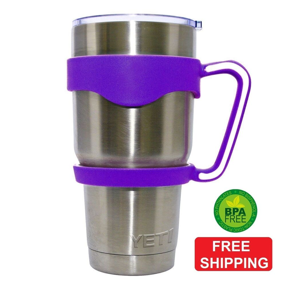 Purple Handle For Ozark Trail Tumbler 30 Oz Yeti Cup Rtic