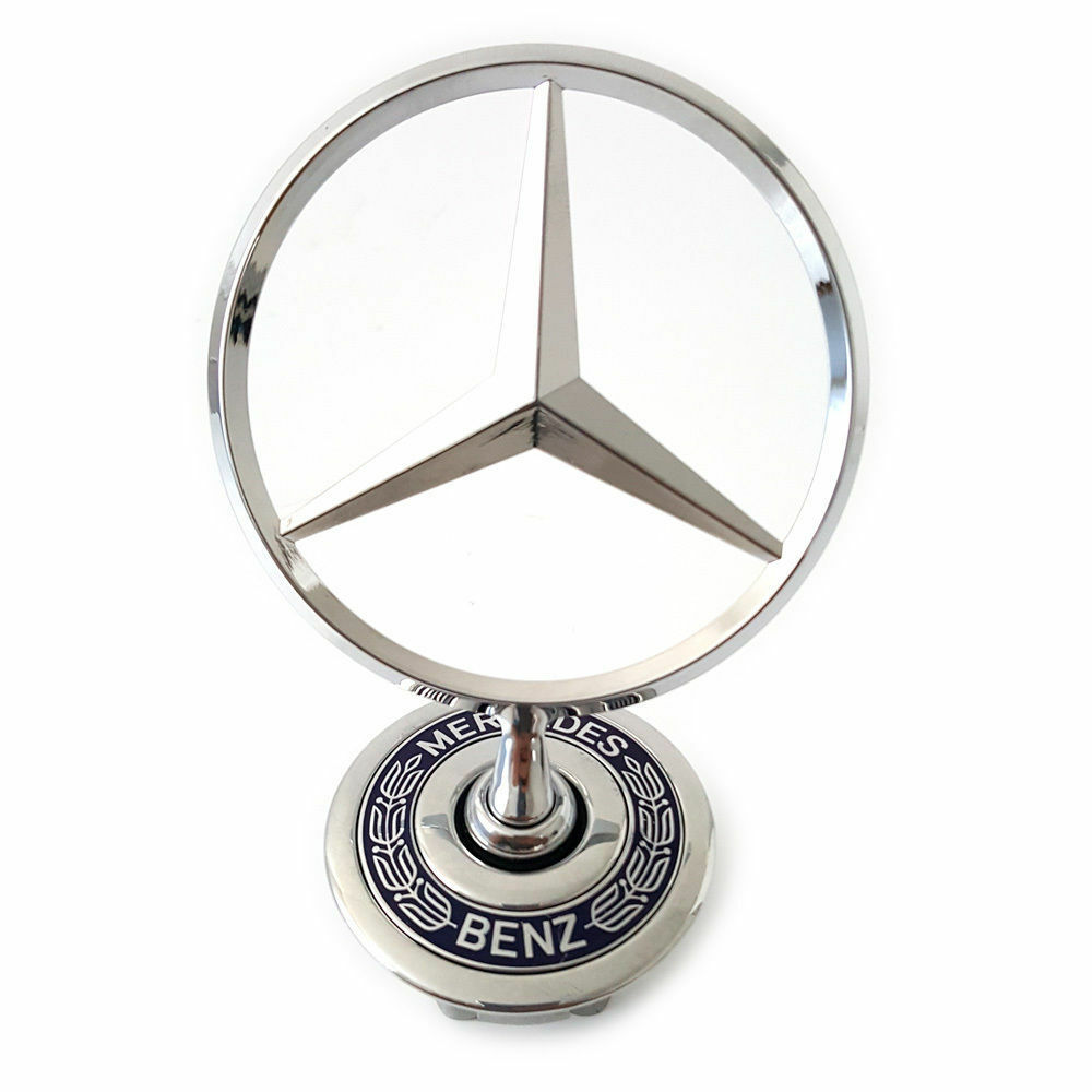 mercedes benz stern star motorhaube emblem v140 w140 s. Black Bedroom Furniture Sets. Home Design Ideas