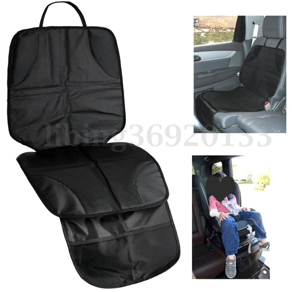car auto travel baby infant kids black seat saver protector safety cushion cover ebay. Black Bedroom Furniture Sets. Home Design Ideas