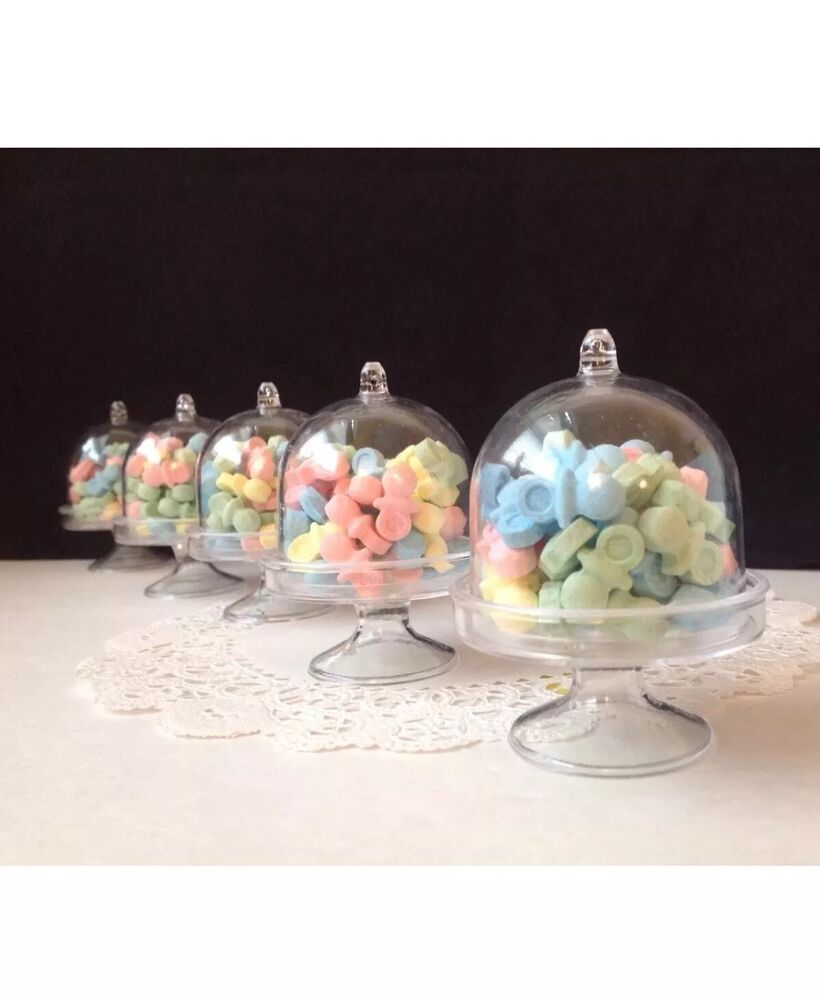 mini wedding cakes shipped clear mini cake stand cupcake favor wedding container 17430