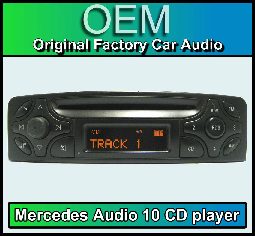 mercedes c class audio 10 cd player merc w203 car stereo. Black Bedroom Furniture Sets. Home Design Ideas