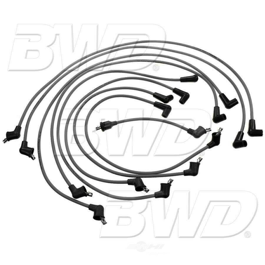 New Borg Warner Bwd Ignition Spark Plug Wire Set Ch826