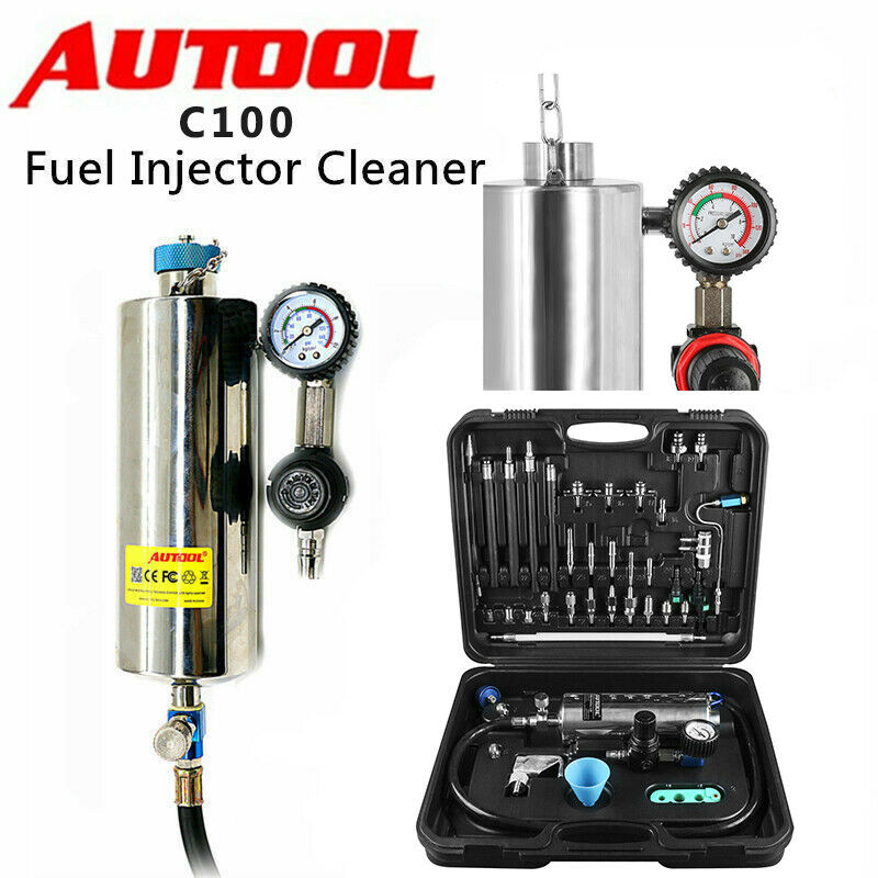 Autool c100 automotive non dismantle vehicle injector for Mercedes benz fuel injector cleaner