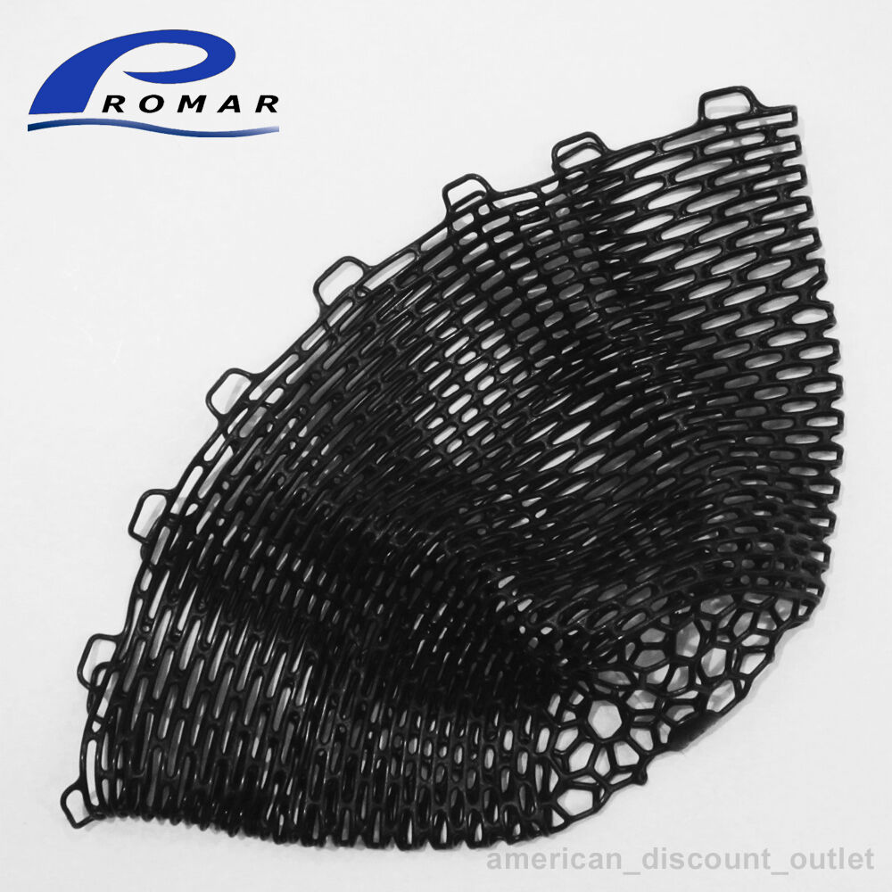 New promar rubber landing net replacement large 26 30 for Rubber fishing nets