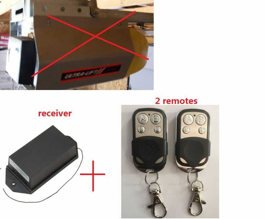 Garage Door Remote Upgrade Receiver Remote For Ultra Lift With 2 Remotes Ebay