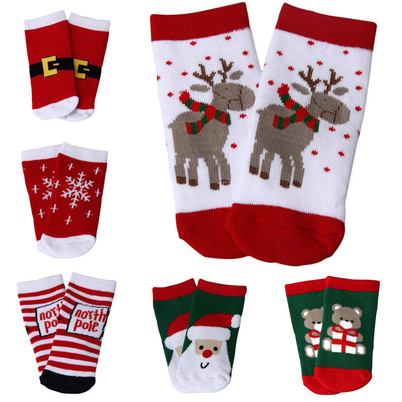 Newborn Baby Boys Girls Cotton Socks Infant Toddler Kids