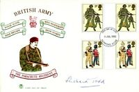 Parachute Regiment FDC signed by D-Day Para Richard Todd UACC