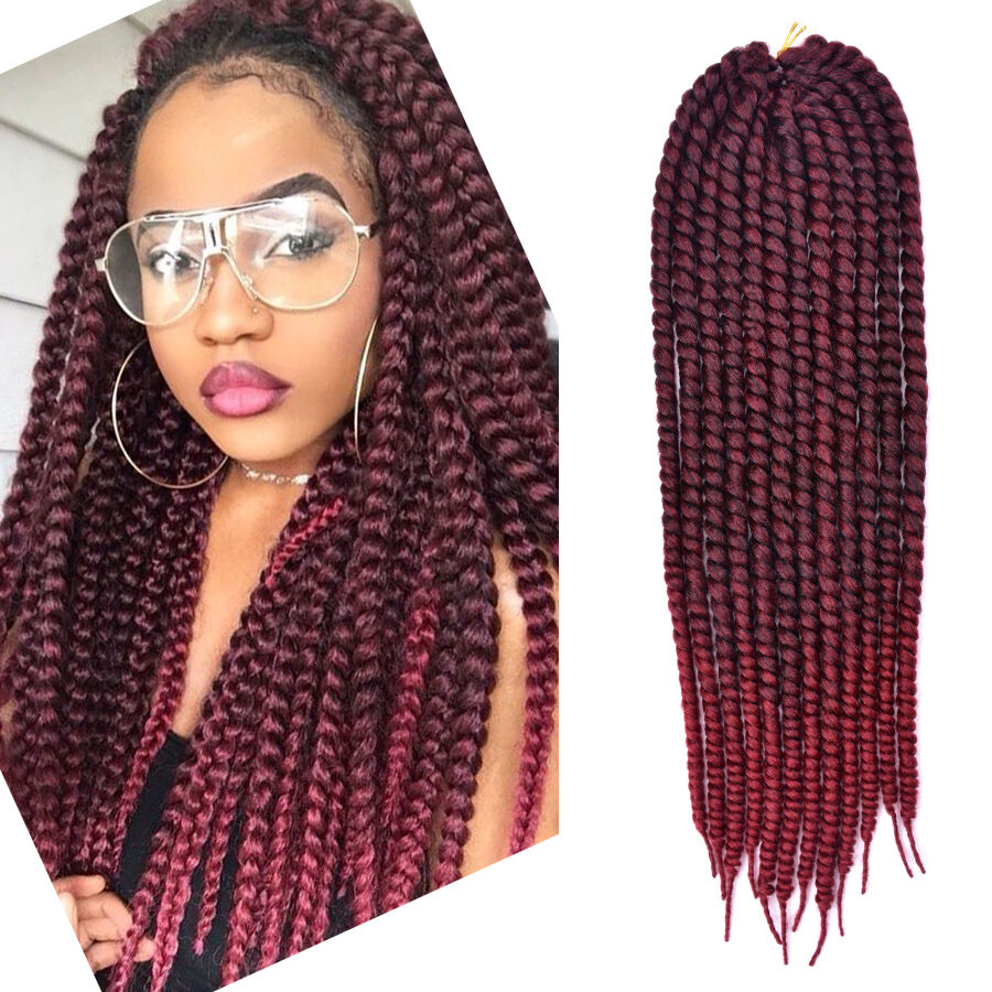 24 inch Havana Mambo Twist Crochet Braid Hair Extensions