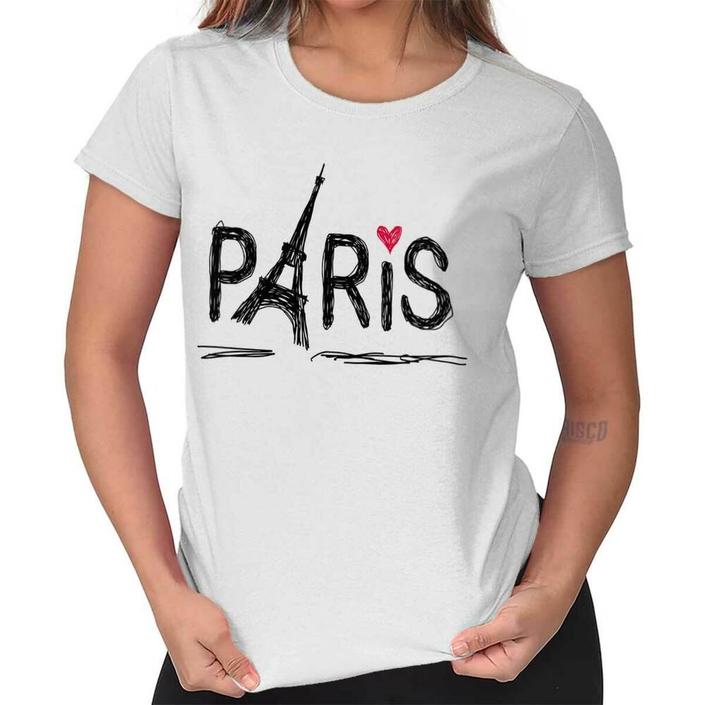 Paris Eiffel Tower French Shirt | France Gift Idea Cute ...