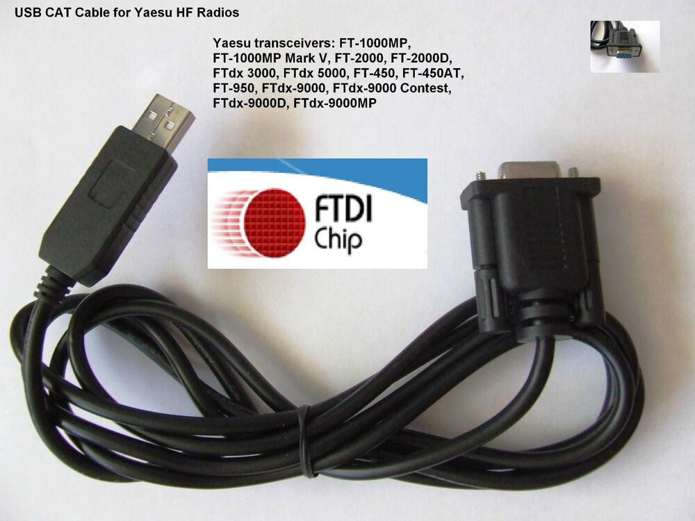 Ftdi usb cat cable for yaesu ftdx 1200 ftdx 3000 ftdx 5000 for Ft 3000
