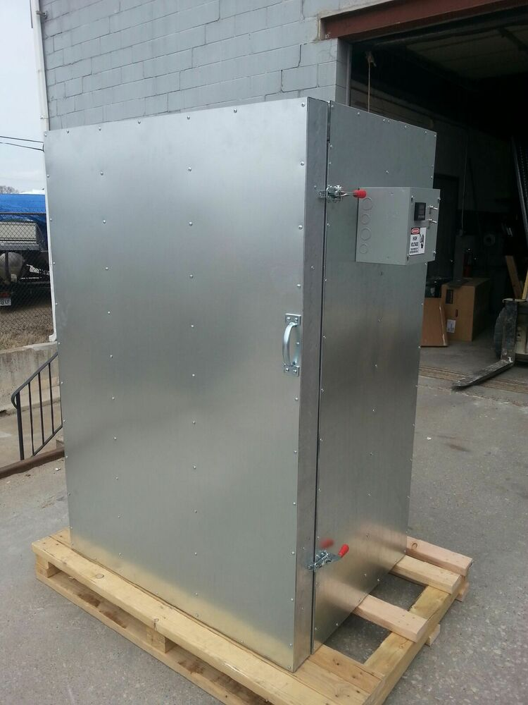 New powder coating batch oven 2x3x5 ebay for Paint curing oven
