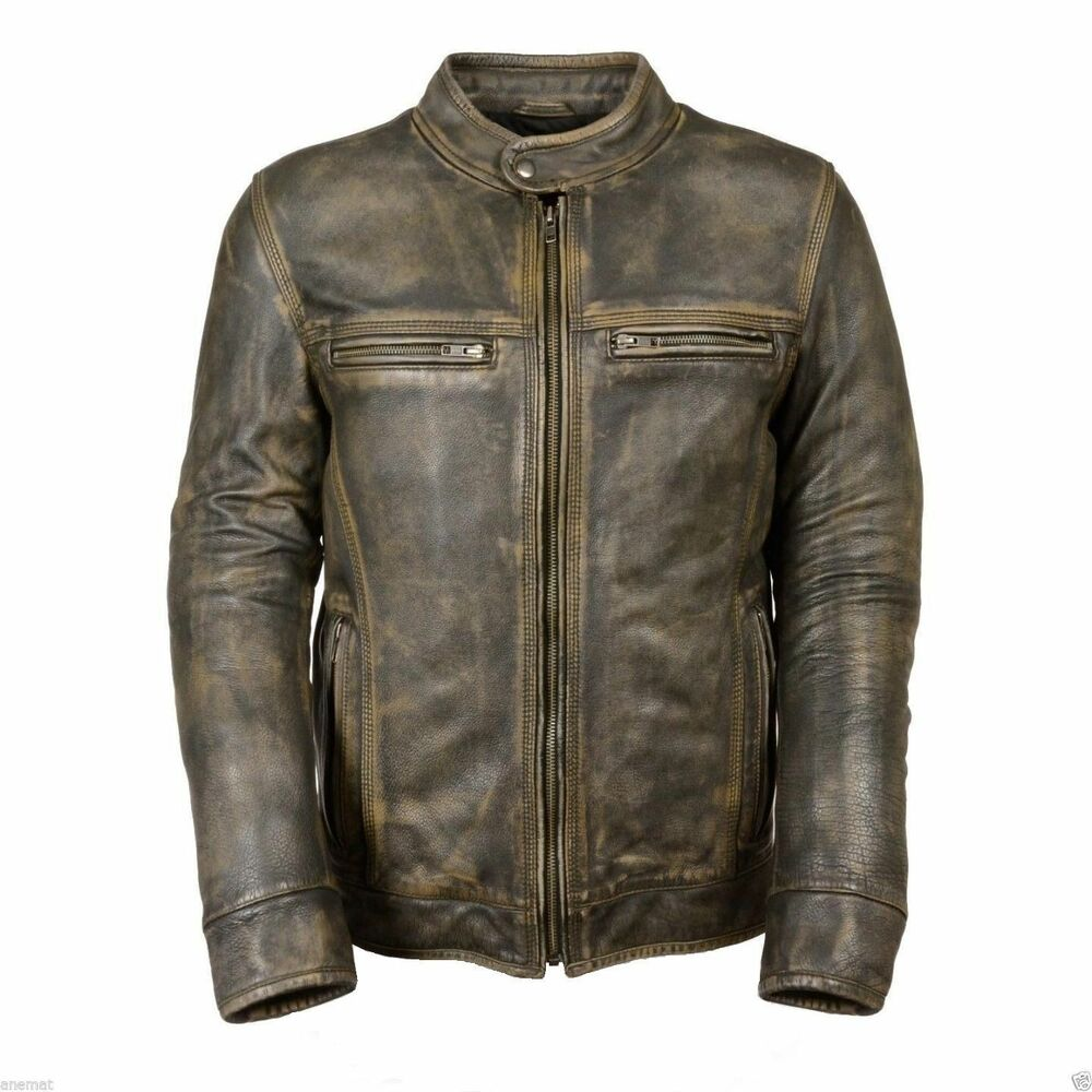 Cafe Racer Style Motorcycle Jackets