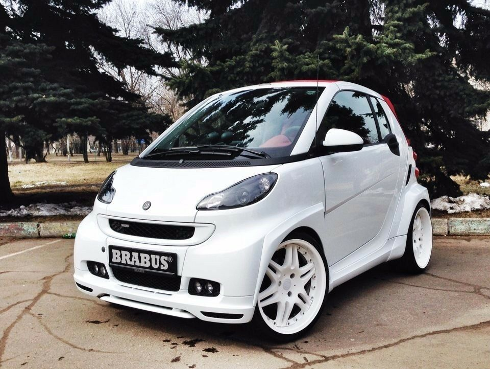 Brabrus Ultimate Smart Fortwo 451 Wide Body Kit For Passion Pulse