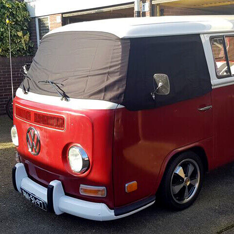 vw t2 bay window camper front screen curtain wrap cover. Black Bedroom Furniture Sets. Home Design Ideas