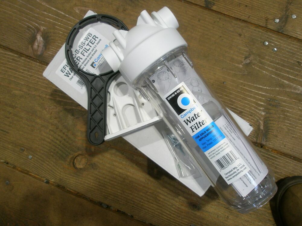 Efh10c B Ss Wb Campbell Drinking Water Filter Housing 3 4