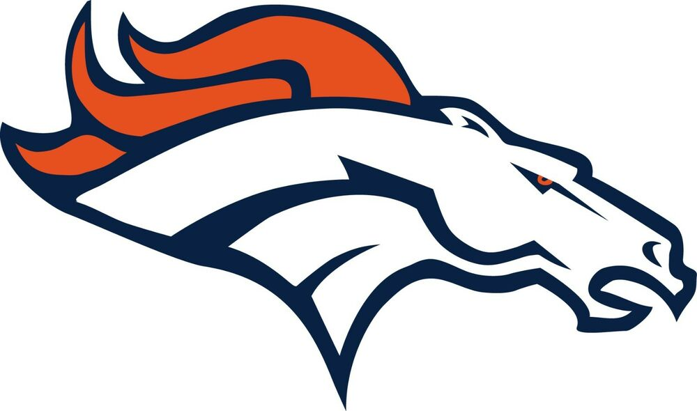 Denver broncos logo window wall decal vinyl car for Vinyl windows denver