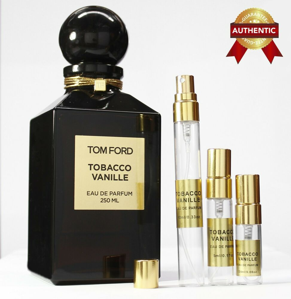 tom ford private blend tobacco vanille sample 5ml 2 5ml authentic perfume ebay. Black Bedroom Furniture Sets. Home Design Ideas