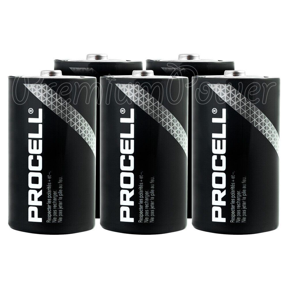 6 x duracell d size batteries industrial procell alkaline. Black Bedroom Furniture Sets. Home Design Ideas