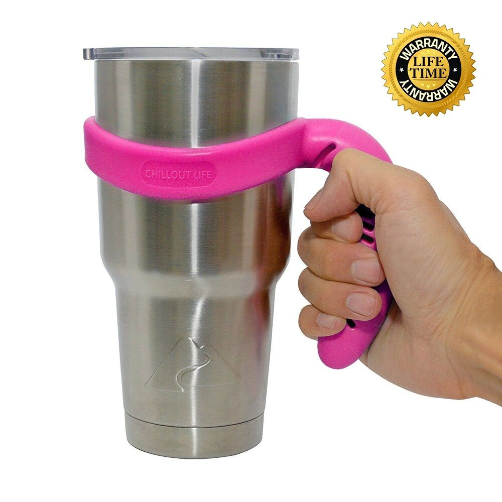 Pink Handle For Ozark Trail Tumbler 30 Oz Yeti Cup Rtic