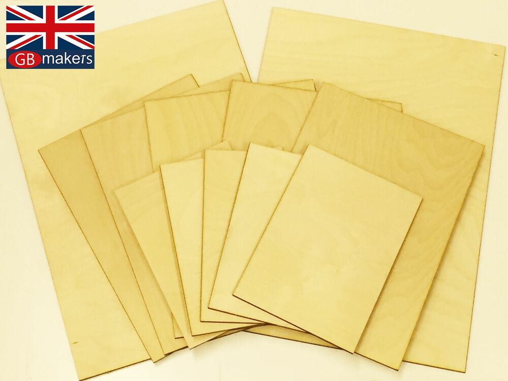 Value pack birch plywood ply premium sheet mixed paper