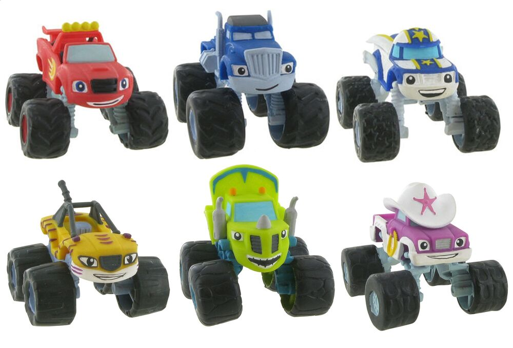 Comansi Official Blaze And The Monster Machines Toy Figure ...