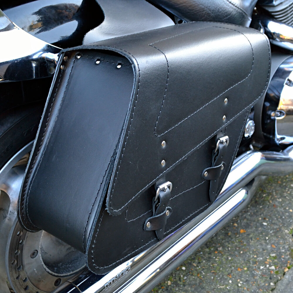 motorrad leder satteltaschen satteltasche honda vt125 600. Black Bedroom Furniture Sets. Home Design Ideas