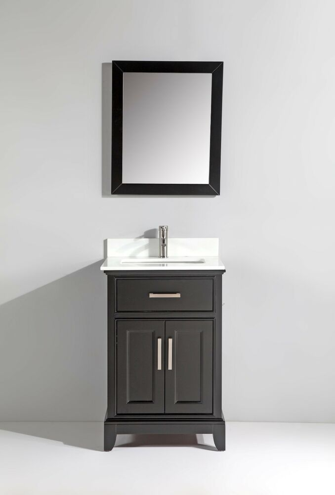 Ebay Bathroom Vanity With Sink: Vanity Art 24-Inch Single-Sink Bathroom Vanity Set With