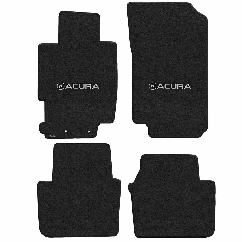 Acura Sedan Custom Fit Carpet Floor Mats 4PC W/Logo On